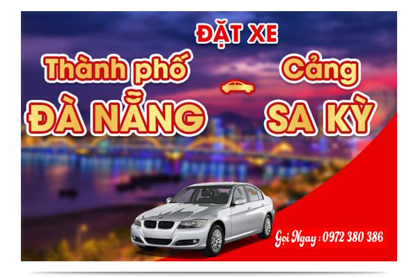 Xe khách chất lượng cao từ Đà Nẵng đi Cảng Sa Kỳ