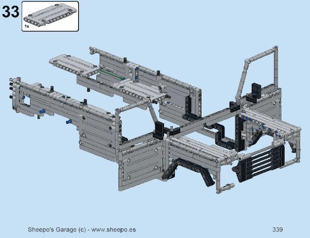 Sheepo 39 s garage land rover defender 110 instructions are for Garage land rover villeneuve d ascq