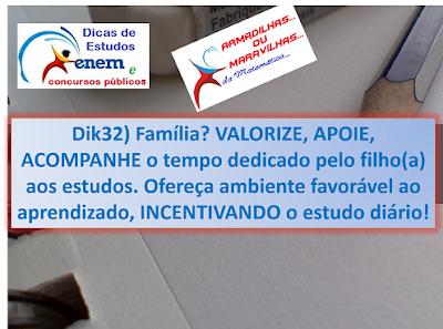 Dik32: Apoio Dos Pais É Importante