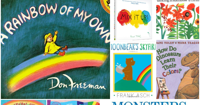 Books About Colors And Rainbows | What Can We Do With Paper And Glue