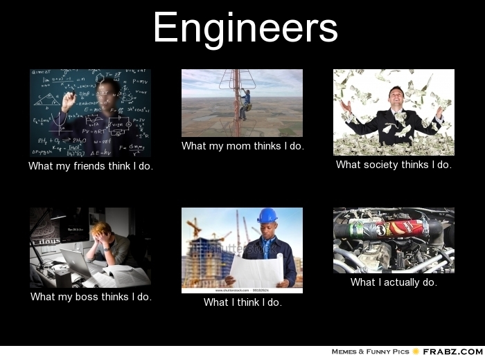 engineers in the eyes of everday people perception