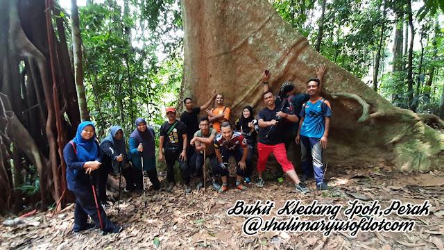 Pengalaman Dan Perbezaan Laluan-Laluan Dakian Bukit Kledang Ipoh, Perak