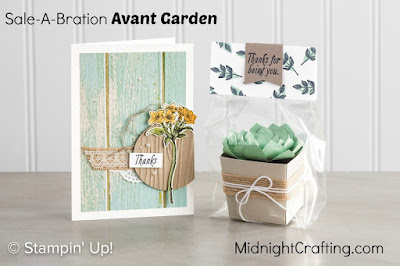 Avant Garden samples Stampin Up MidnightCrafting.com Sale A Bration 2017