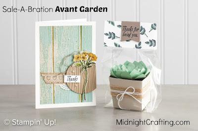 Avant Garden samples Stampin Up MidnightCrafting.com Sale A Bration 2017