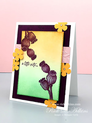 Today's A Little Note card using the Enjoy the Moments Stamp Set is for this Week's creative challenge at the Spot.  Click to learn more!