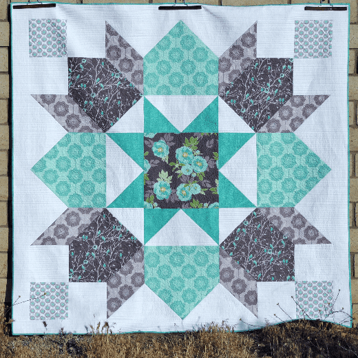 The Lucent Quilt Free Tutorial designed by Yvonne Fuchs of Quilting Jetgirl
