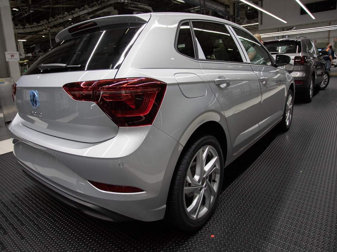 VW reduzirá produção do Polo, Virtus, Nivus e Saveiro por 20 dias