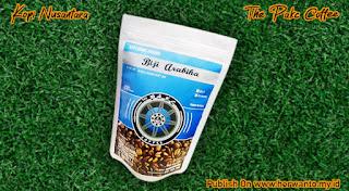 Produk bubuk kopi arabika