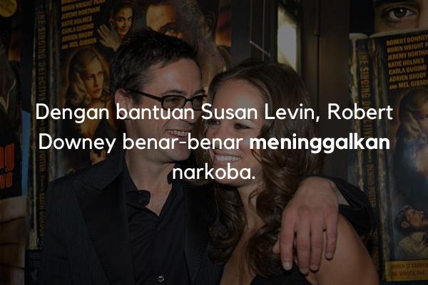 Robert Downey meninggalkan narkoba