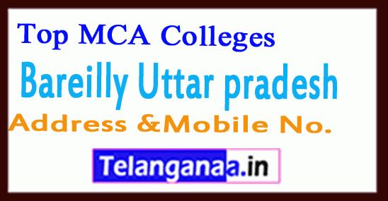 Top MCA Colleges in Bareilly Uttar pradesh