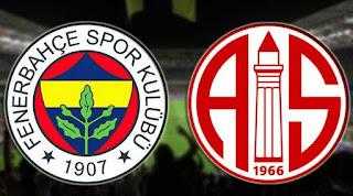 Antalyaspor Fenerbahçe Maçı Kaç Kaç Bitti, Maç Sonucu
