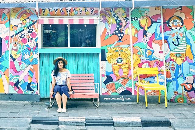 foto di depan sea circus bali