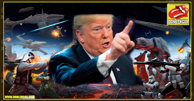 Donald Trump decide crear la primera Flota Espacial de Ejército Armado ( Starwars )