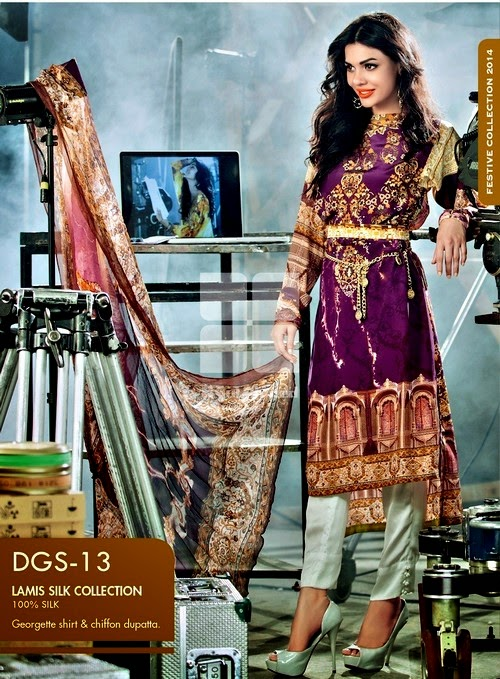 Eid Collection 2014 by Gul Ahmed