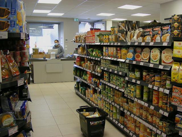 Village corner shop, Indre et Loire, France. Photo by Loire Valley Time Travel.