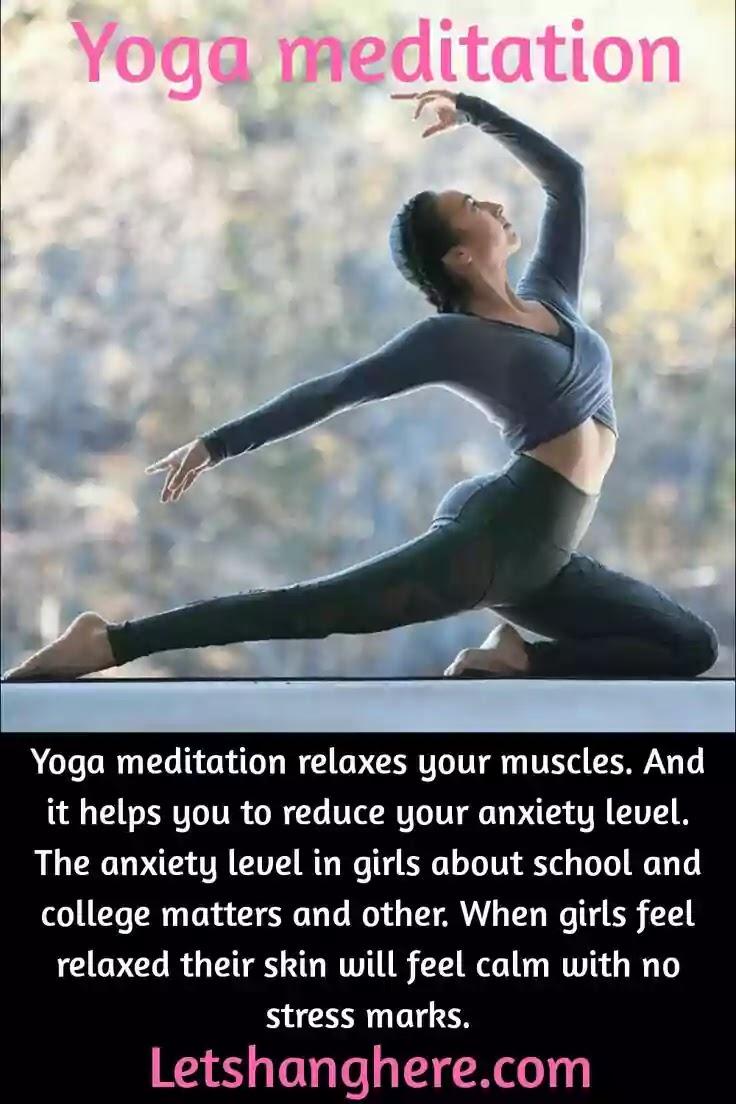 Yoga meditation for girls