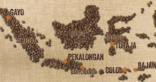 peta kopi indonesia