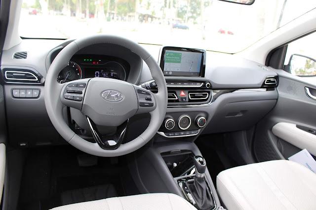 Hyundai HB20S (Sedã) 2020 - interior