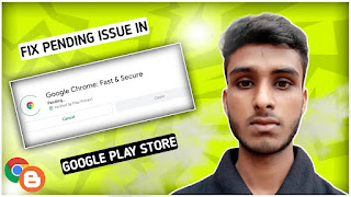 How to fix download pending problem in play store