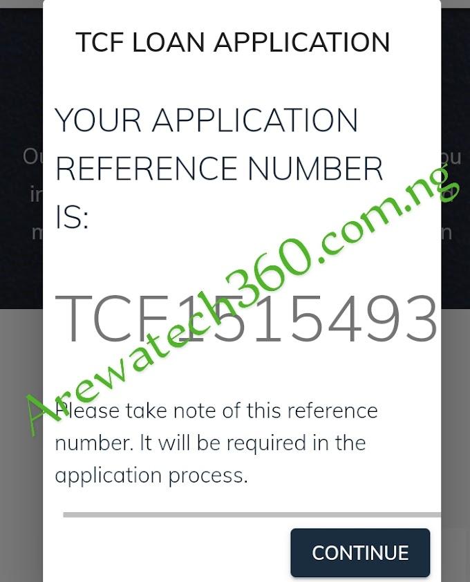 Amfanin Reference number da ake bayarwa yayin cika covid-19 loan