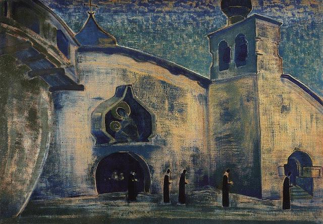 Николай Рерих - И несем свет. 1922