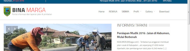 Dibuka Layanan Rembuk Jalan Lewat Website