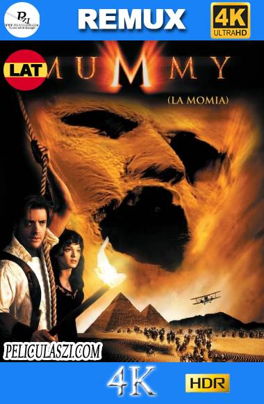 La Momia (1999) Ultra HD REMUX 4K HDR & BRRip 1080p Dual-Latino VIP
