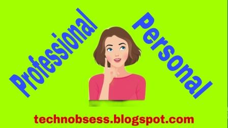 Professional Blogging and Personal Blogging