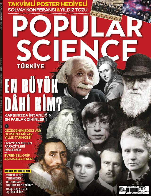 Popular Science Ocak 2021 Dergi PDF indir
