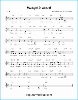 moonlight in vermont lagu jazz standar
