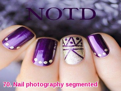 Nail photography segmented