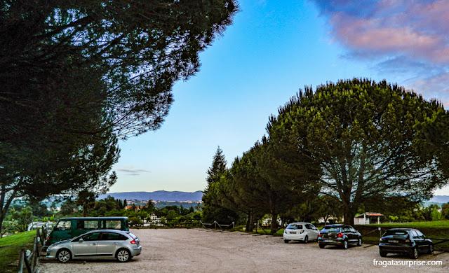 Carro alugado em Portugal