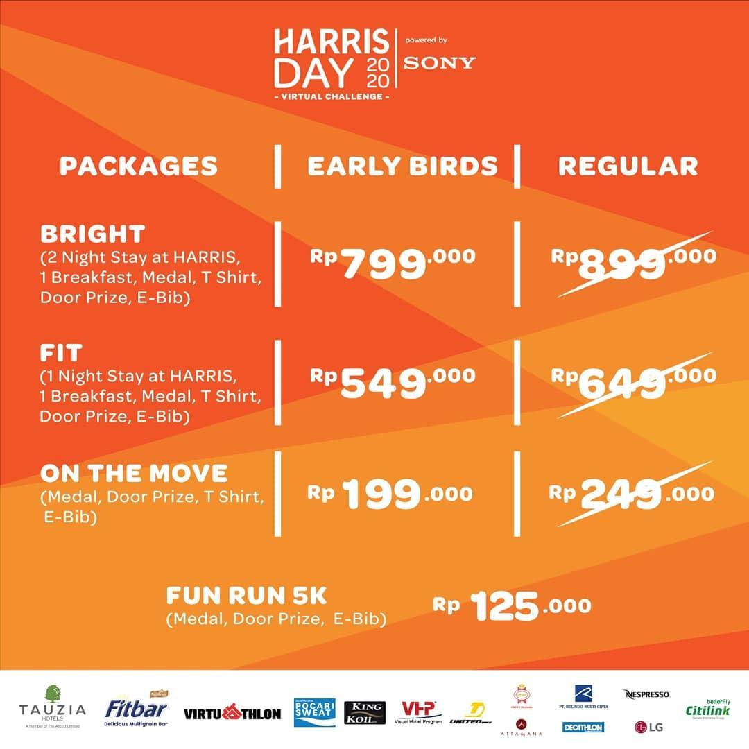Harris Day Virtual Challenge • 2020