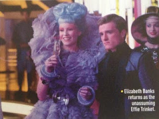 Effie and Peeta featured in a new Catching Fire still in Empire magazine.