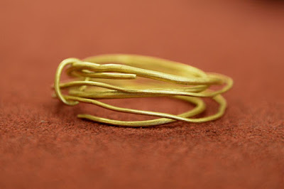Polish farmer finds 2,500 year old gold bracelets