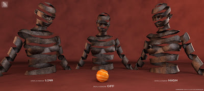 Peeled Orange Skin Shader for Genesis 8 Female