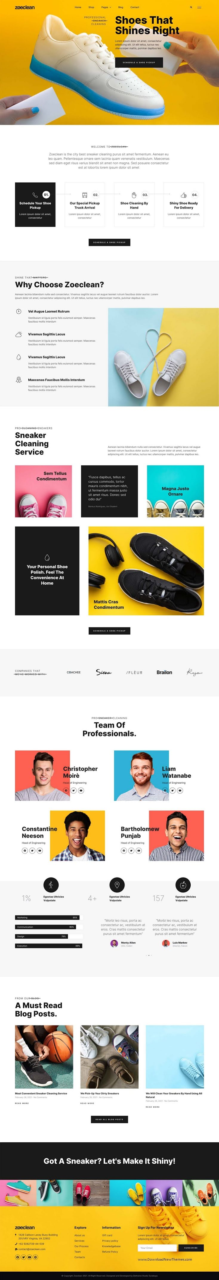 Shoe Cleaning & Shop Template Kit