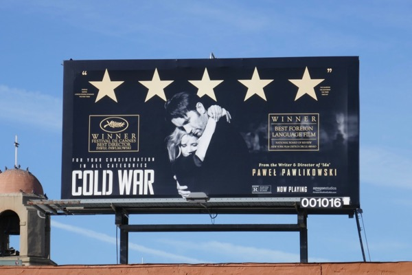 Cold War FYC Foreign language film billboard