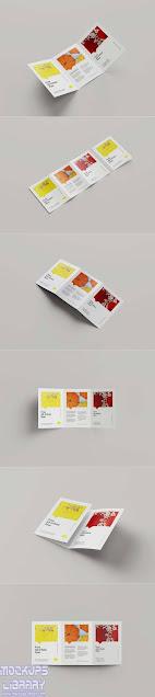 a5 tri-fold brochure mockup 1