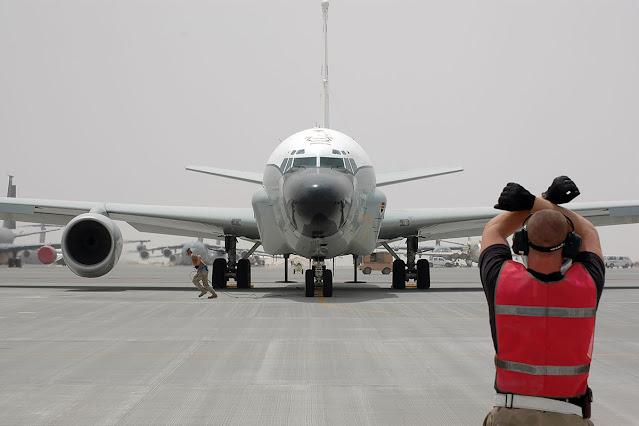 Pesawat militer Amerika Serikat Boeing RC-135