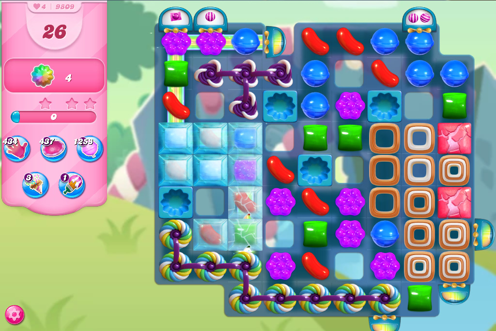 Candy Crush Saga level 9809