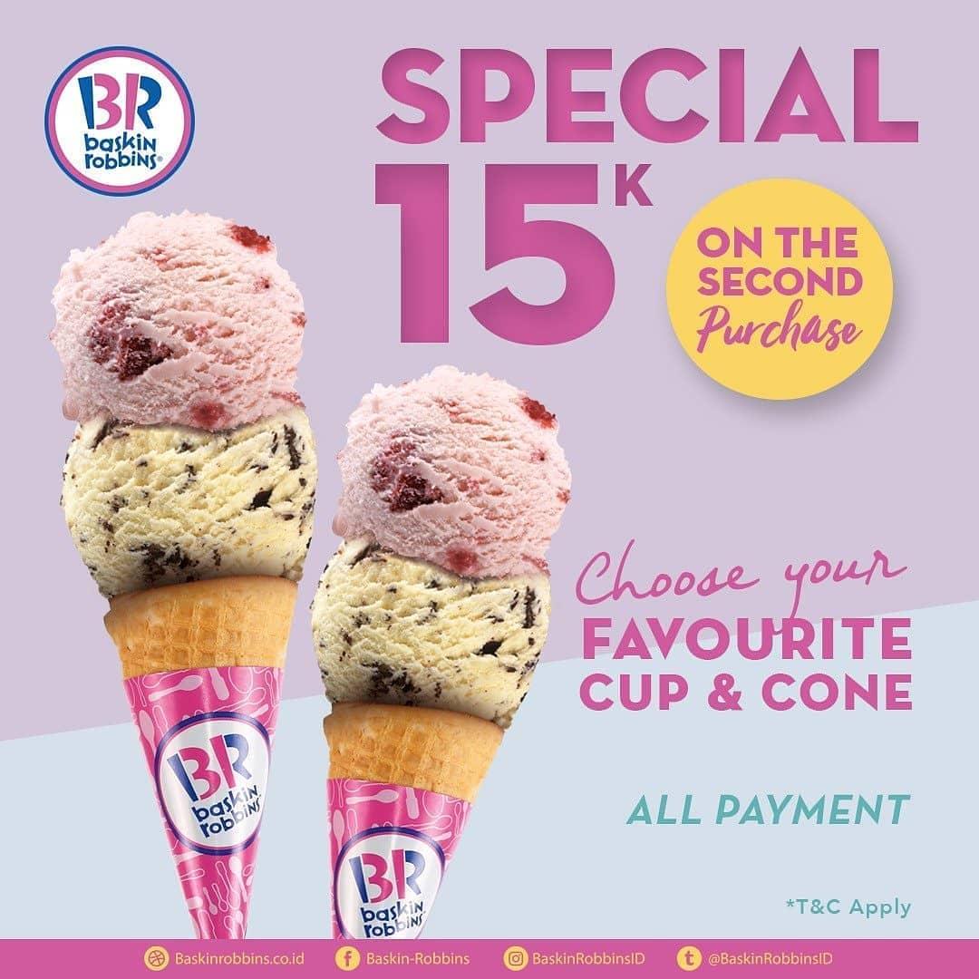 Promo Baskin Robbins Special 15K Diskon Hari Ini