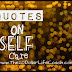 Quotes on Self Care