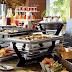 Sắp xếp thiết bị nhà hàng buffet như thế nào