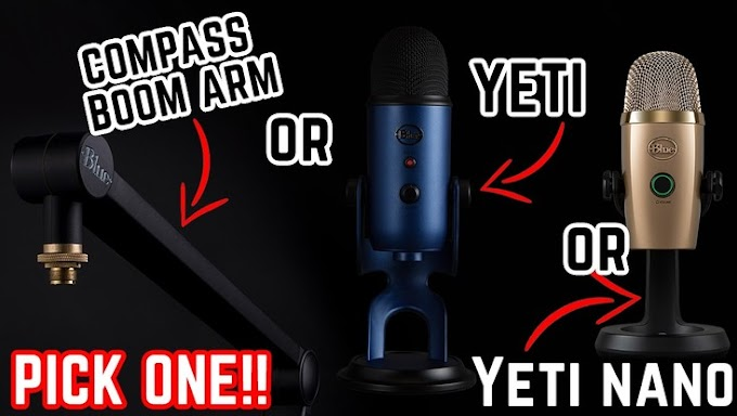 Sorteio de um Microfone Blue Yeti
