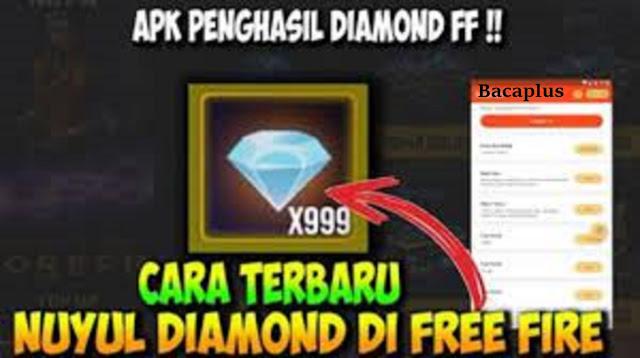 Apk Penghasil Diamond FF Gratis Asli