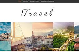 Travel Blogger Template – Fashion Blogger Template