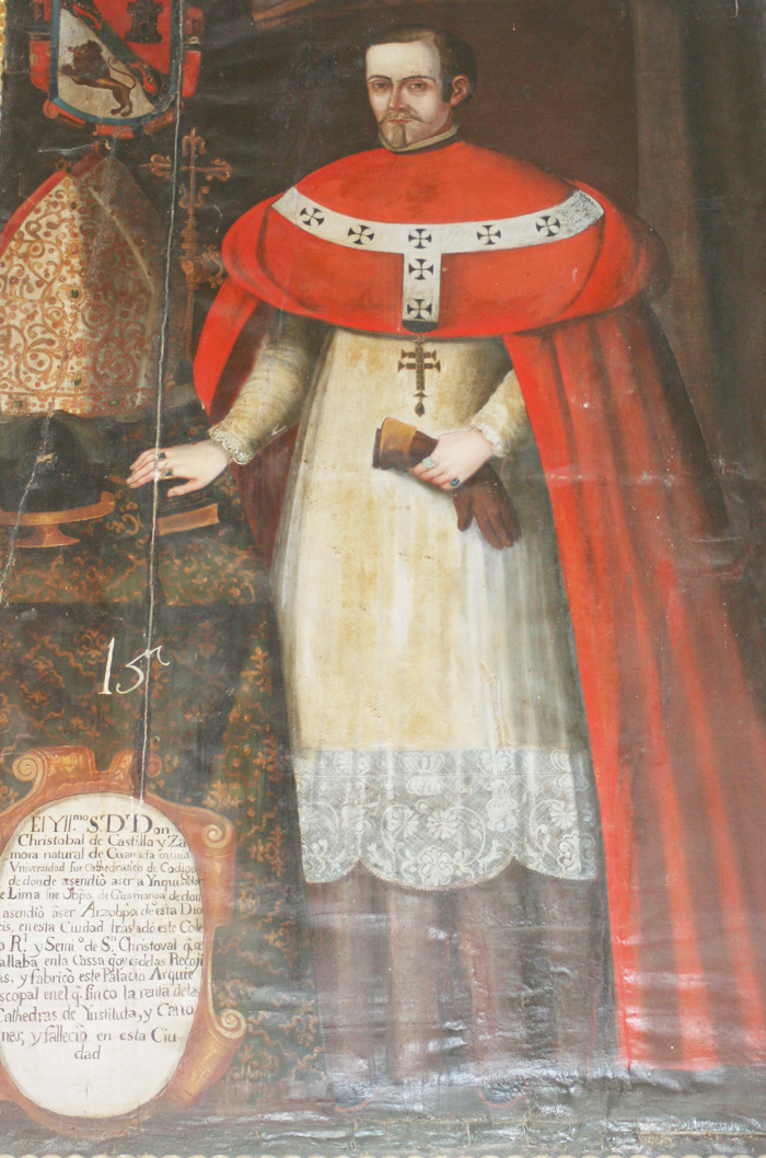 Resultado de imagen de Cristóbal de Castilla y Zamora