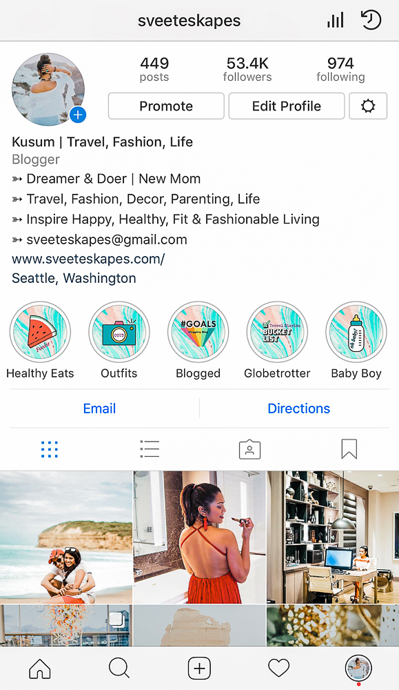 Do's and Don'ts of Instagram Stories + Highlights + Cover Images