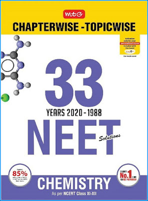 Download NEET MTG 33 Years Chemistry Chapter Wise Solution ebook Pdf